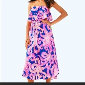 Lilly Pulitzer | Meridian Midi Dress | Size S